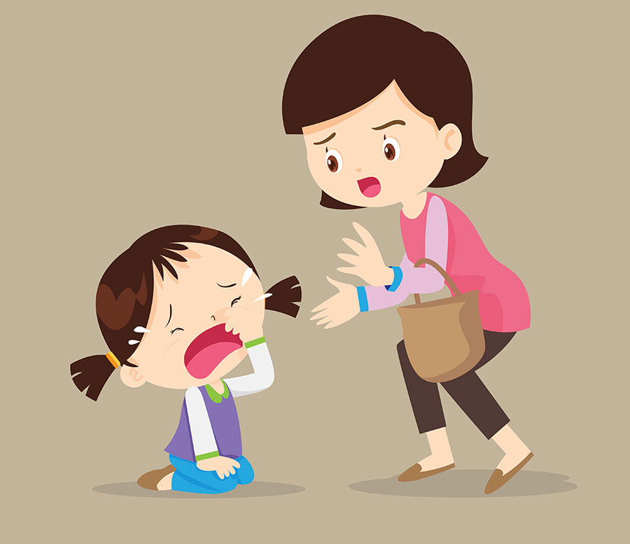 تصویر از چگونه وقتی با اشتباه کودک روبرو شدیم رفتار کنیم؟