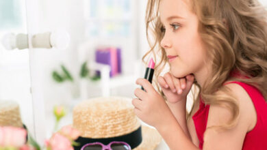 تصویر از چه سنی مناسب آرایش دختر بچه ها می باشد ؟