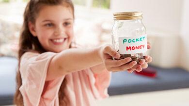 تصویر از بهترین راه برای دادن پول تو جیبی به کودکان چیست ؟