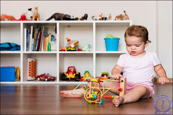 بازی کودک دو ساله