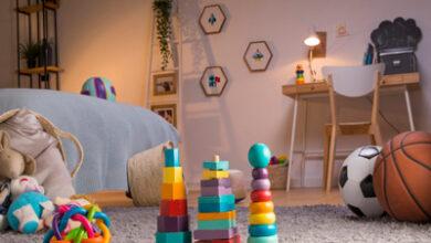 ایده هایی برای طراحی اتاق کودکان دبستانی