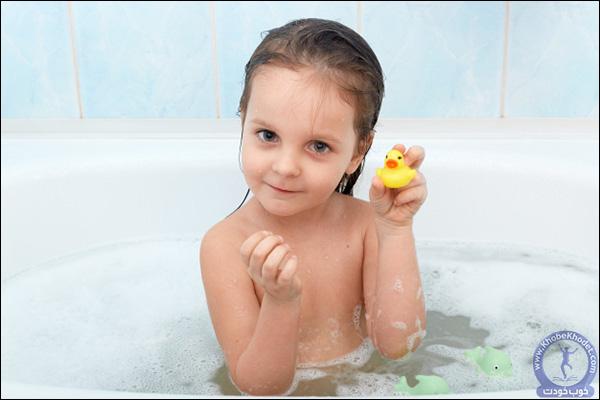 حمام کردن کودک