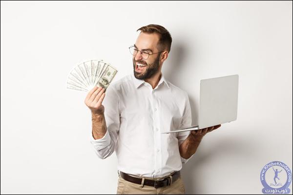 مشخص شدن فروش و درآمد